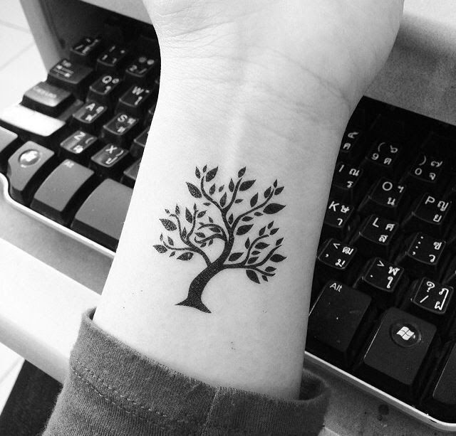 Great Simple Tree Tattoo Tattoomagz