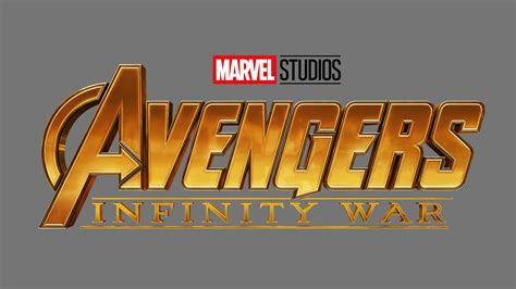 avengers infinity war  logo wallpapers hd