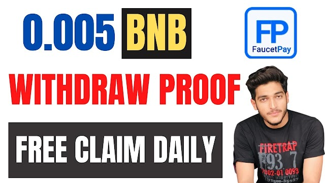 Earn Daily 0.005 BNB Without Investment || Free Claim BNB Token || Make Money Online