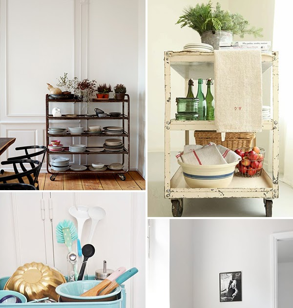 Kitchen Trolley Interior: IDA Interior Lifestyle: 6 Kitchen Carts