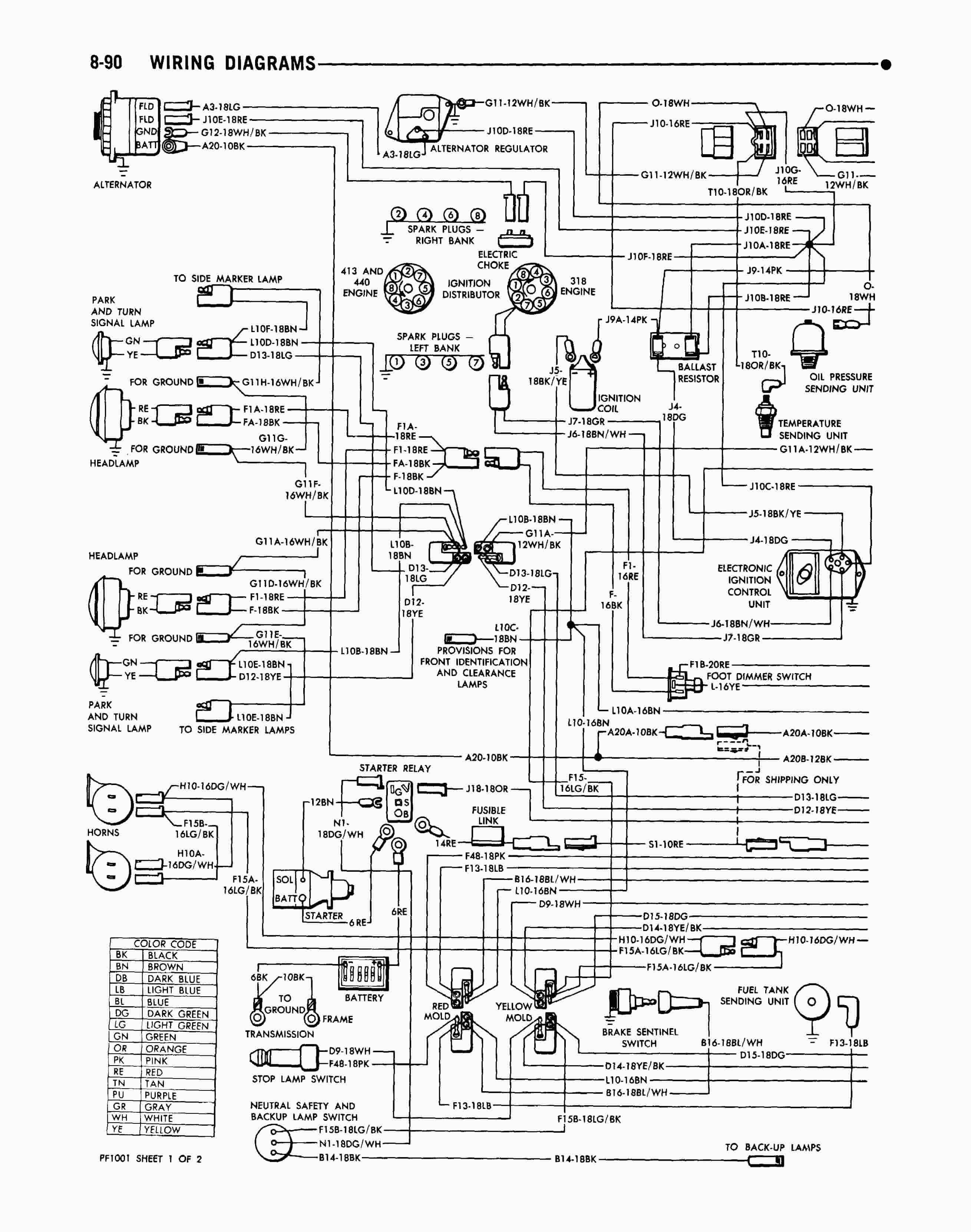 1985 Plymouth Reliant Wiring Diagram