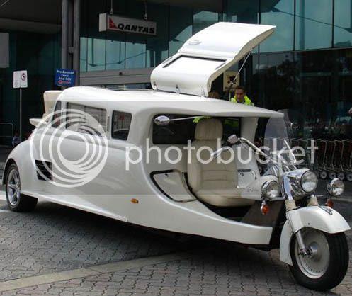 Limusine triciclo