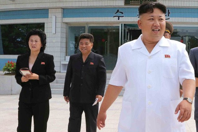 North Korean dictator Kim Jong Un's sister Kim Yo-jong (left), who has already been identified as Deputy Director of the Workers' Party, has reportedly taken leadership while her brother recovers from a leg injury
