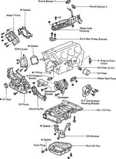1995 Toyota Camry Engine Diagram | Automotive Parts