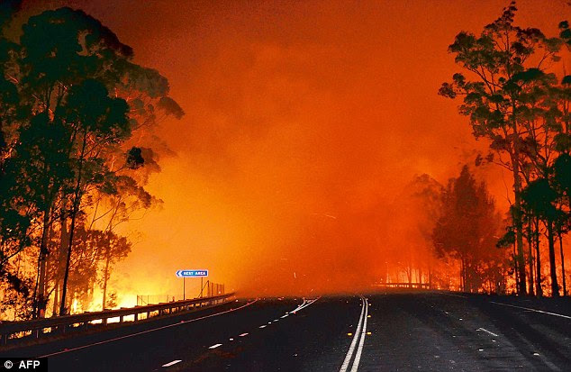 Global Warming Policy Foundation's Dr David Whitehouse believes the very notion of 'extreme' weather is a nonsense. He said you could find examples in any period of history event, such as the fires in Australia