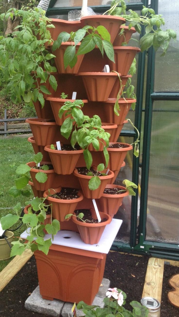 diy hydroponics tower