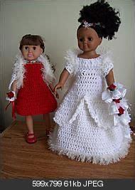 "American Girl 18"" Doll Princess Dress FREE crochet pattern"
