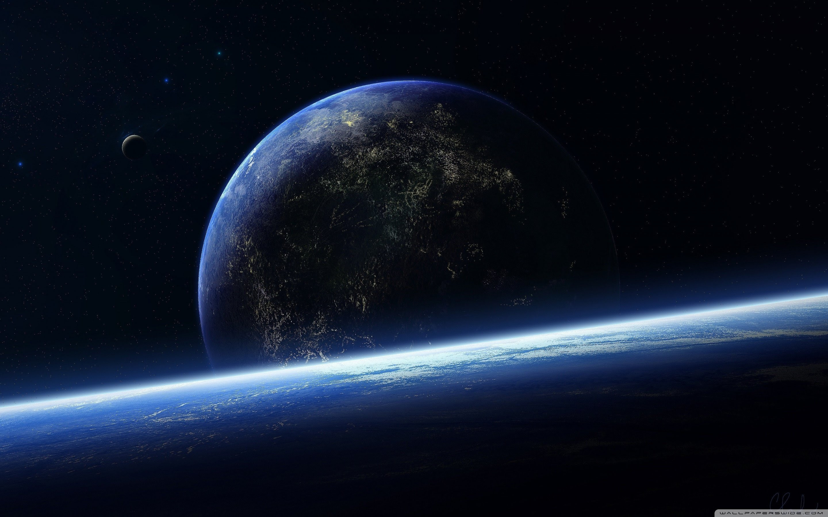 Beautiful Wallpaper Earth From Space Wallpaper Hd New