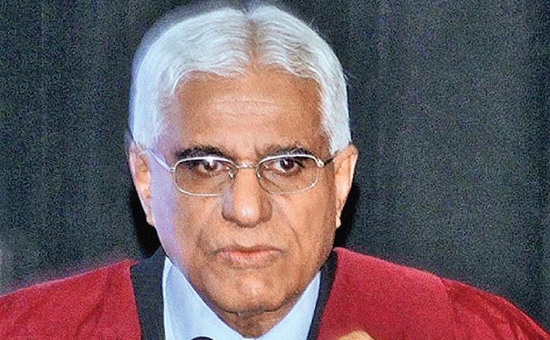 Central Bank Governor Dr. Indrajit Coomaraswamy.