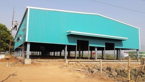 Industrial Shed Ms Fabricated Shed Service Provider From Chennai