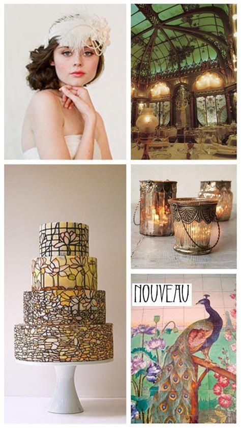 Art Nouveau   Wedding Inspiration & Ideas   Want That