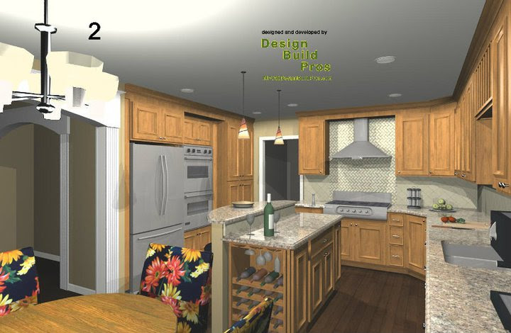 Kitchen Cabinet Design And Layout Options For Remodeling Construction