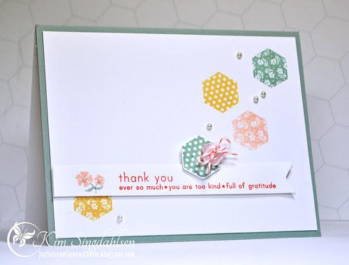 Thank You Hexagons