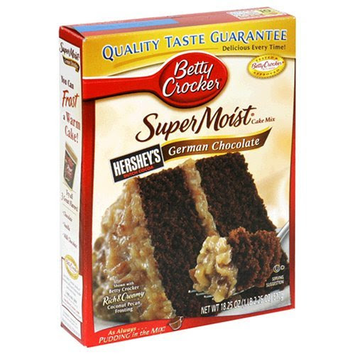 The Million Dollar Cake :  wedding cake dallas American Betty Crocker Supermoist German Chocolate Cake Mix 622 P american-betty-crocker-supermoist-german-chocolate-cake-mix-622-p