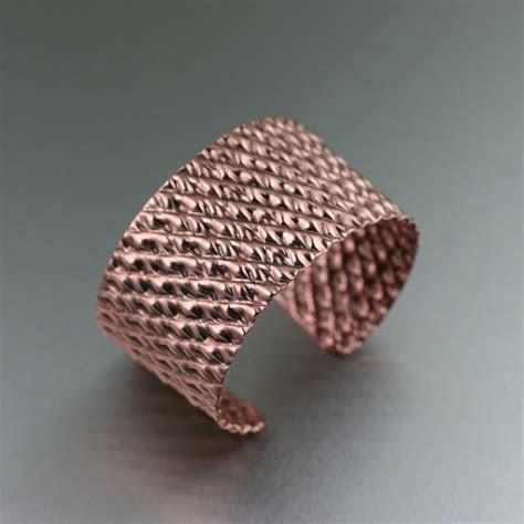 Corrugated Copper Cuff