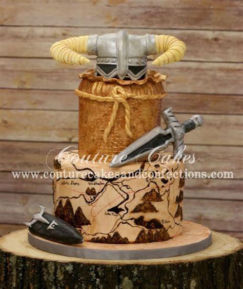 Couture Cakes & Confections: Elder Scrolls V: Skyrim Cake