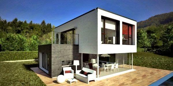 Casas prefabricadas madera casas prefabricadas de diseno moderno precios - Casas prefabricadas hormigon ...