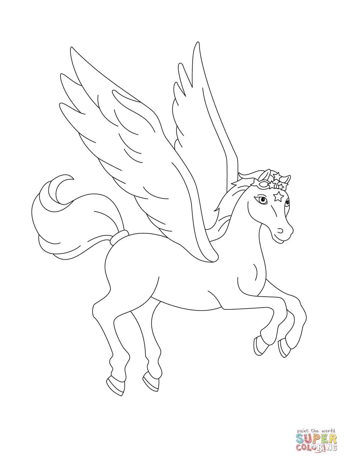 Klick das Bild Fliegender Pegasus