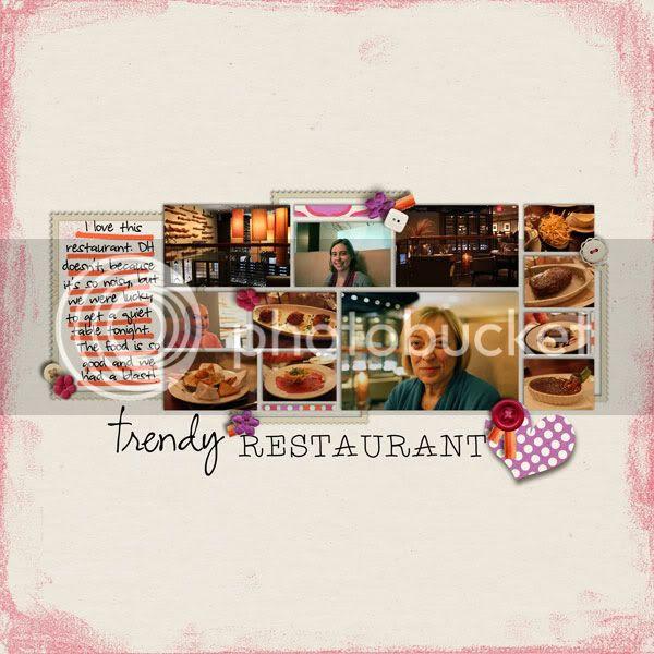 Mom's Visit Day 4: Trendy Restaurant