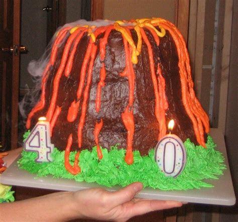 Volcano Cakes ? Decoration Ideas   Little Birthday Cakes