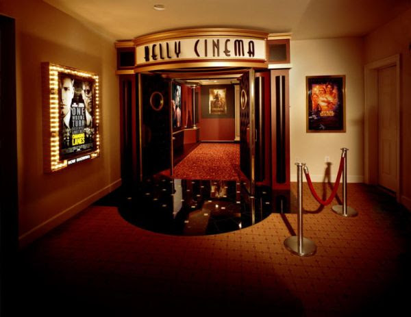 Decorating A Stylish & Comfy Movie Room