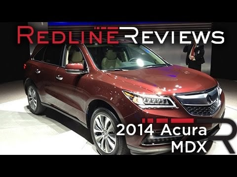 2014 Acura MDX video review