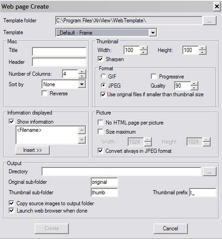 Xnview: Image Viewer dengan Fitur Capture dan Pembuat Web Thumbnail!
