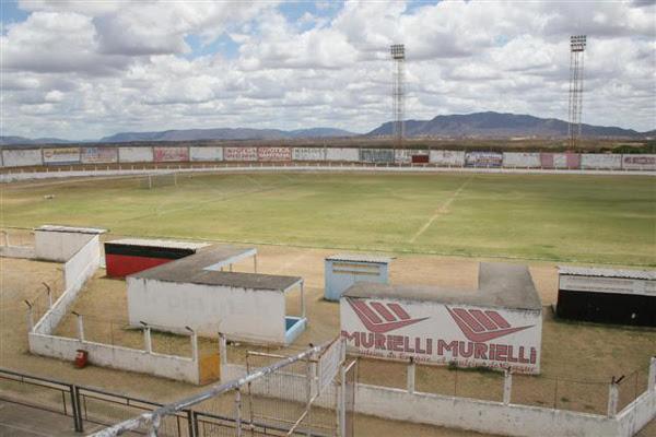 O estádio Marizão, em Caicó precisa de reformas que ainda não foram iniciadas para a temporada