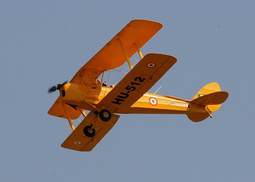 Tiger Moth of teh IAF's vintage Flight by Chindits