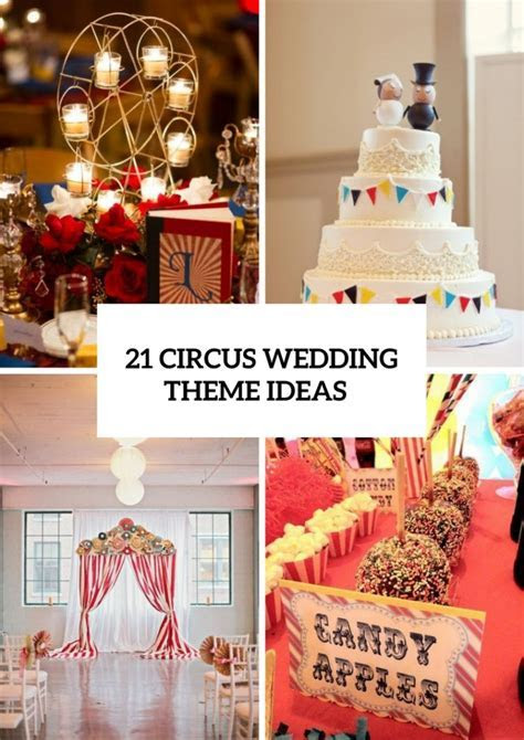 21 Whimsical Circus Wedding Theme Ideas   Weddingomania