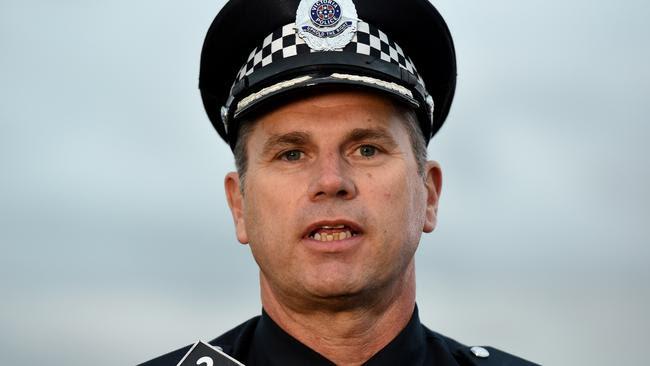 Superintendent Tony Langdon. Picture: Kylie Else