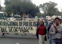 marcha fpdta malinche, giugno 2010