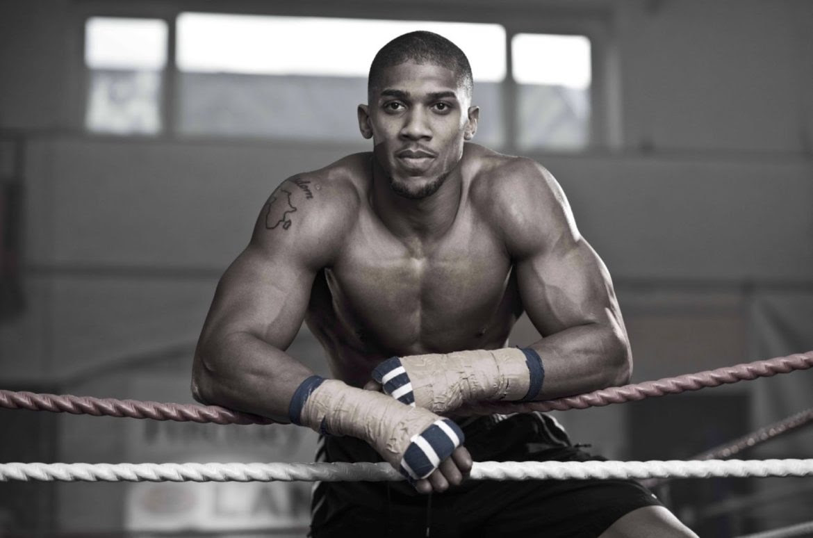 Image result for anthony joshua in jamaica