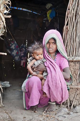 Mother and Child - Toranmal , Maharashtra