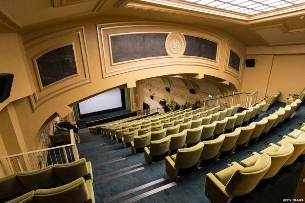Regent Street Cinema interior, pictured in 2015 after a three-year restoration