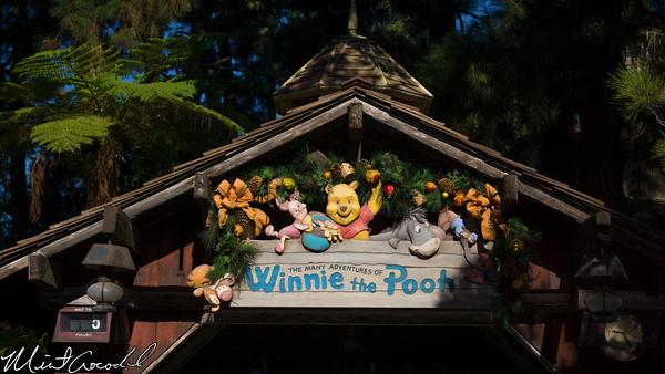 Disneyland Resort, Disneyland, Critter Country, Winnie the Pooh, Splash Mountain, Christmas Time