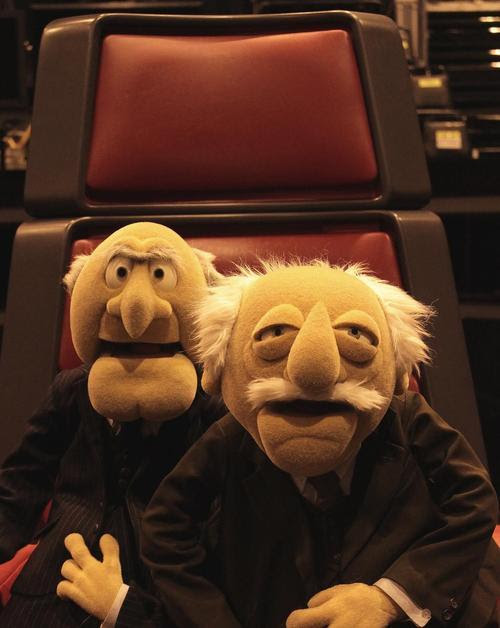 Statler and Waldorf<br />These 2 were my favorite Muppets.