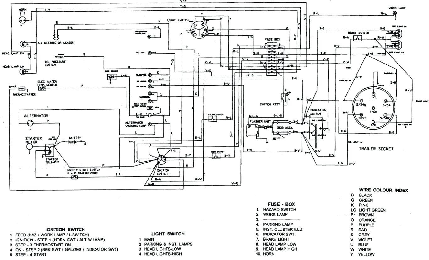 Wiring Manual PDF: 12 Volt Wiring Diagram To20 Ferguson ...