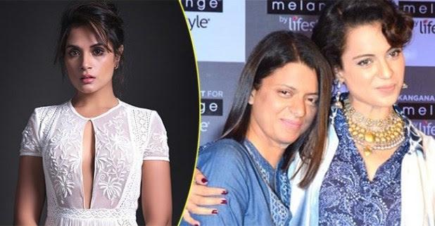 Kangana Ranaut's Sister Rangoli Chandel Lashes Out at Richa Chadha Calling Her 'Jobless Actor'