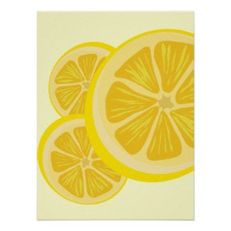 Slice of Lemon Print
