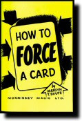 force a card