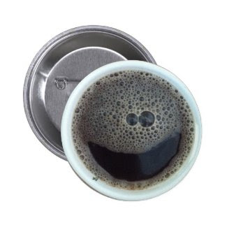 Time for coffee smiley face pins