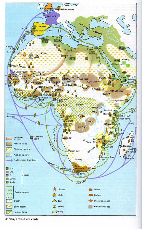 Africa Between The 15th And 17th Century