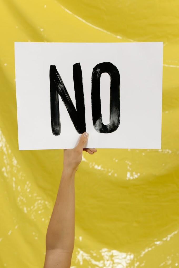 Η σημασία του να λες «όχι» και 7 Tips για να το λέμε πιο εύκολα | InMedHealth