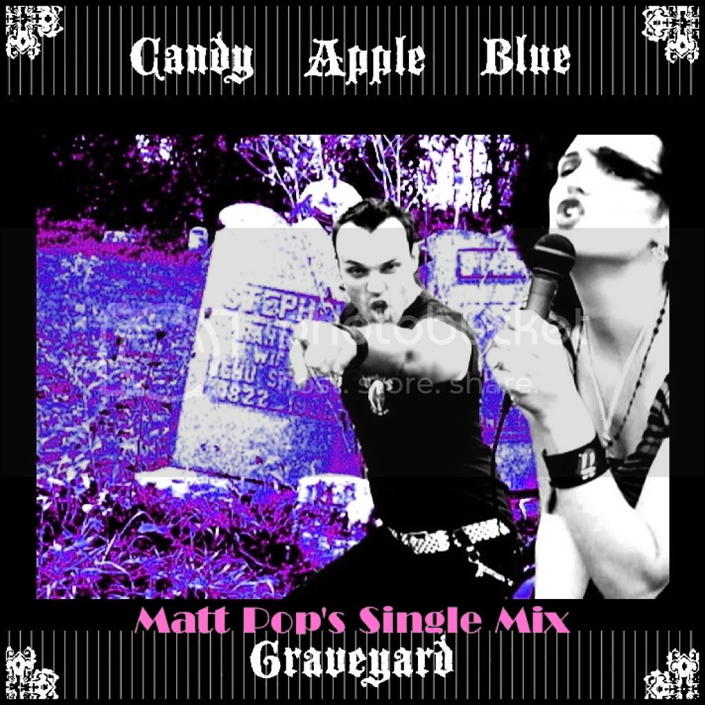 Matt Pop Candy Apple Blue Graveyard