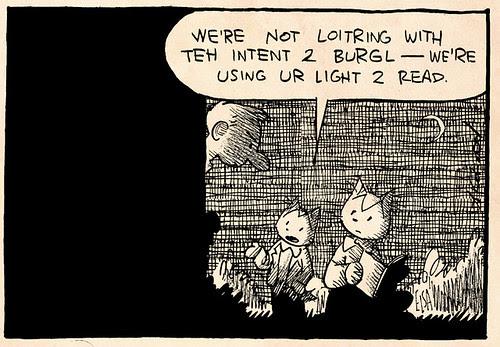 Laugh-Out-Loud Cats #2012 by Ape Lad