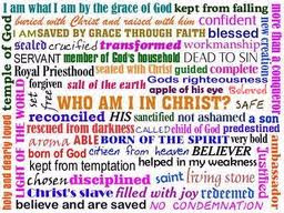 Who I Am In Christ Pams Place