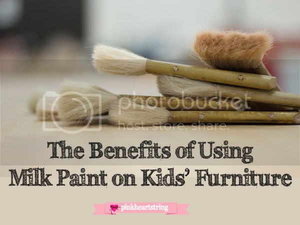 The Benefits of Using Milk Paint on Kids' Furniture