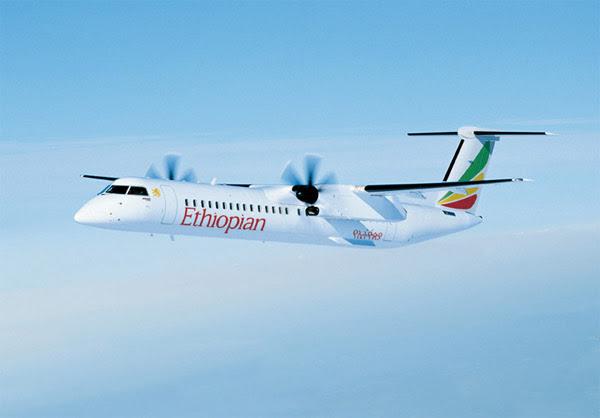 Ethiopian Airlines Q400 Hargeisa