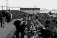 Golden Gate Bridge 75th Anniv - Shoe exhibit